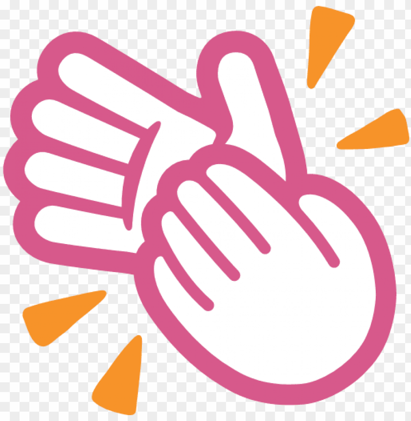 Download clapping hands sign em clipart png photo.