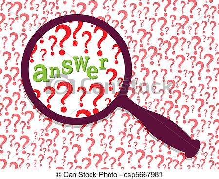 Answer Found Clipart.