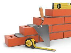 Foundation construction clipart.