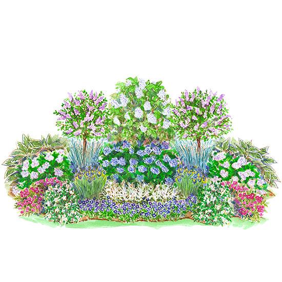 Shade Garden Plans.