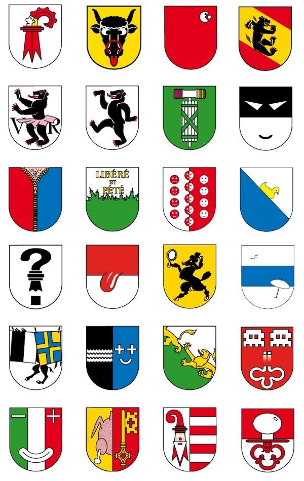 Swatch D'Schwizer Watch Epitomizes Swiss Humor.