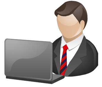 Business Manager Clipart.