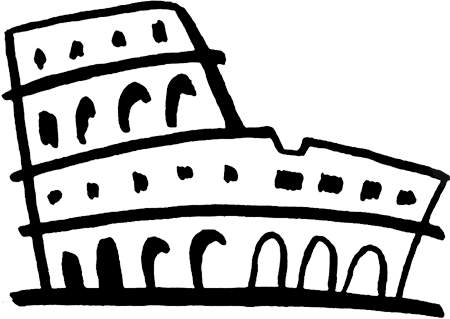 Clipart ancient rome.