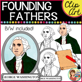 founding fathers clip art #7