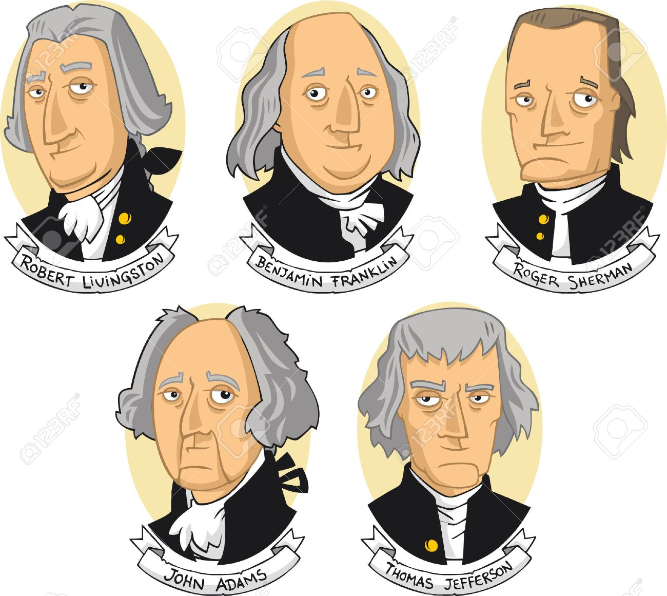 Founding fathers clipart 2 » Clipart Station.