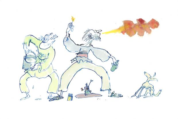 Quentin Blake: As Large as Life at the Foundling Museum.