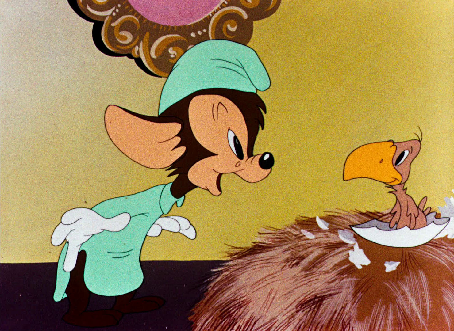"Looney Tunes Pictures: ""Lost and Foundling""."