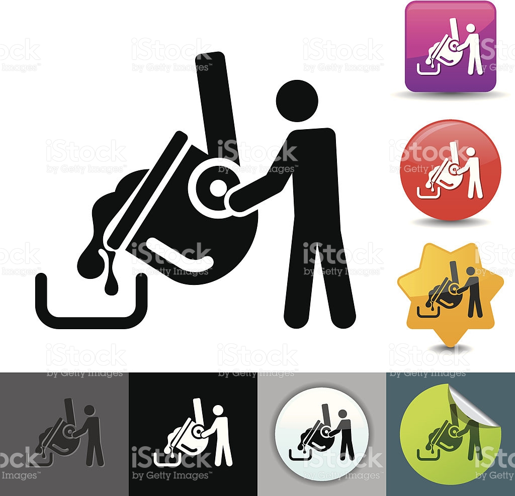 Steel mill clipart.