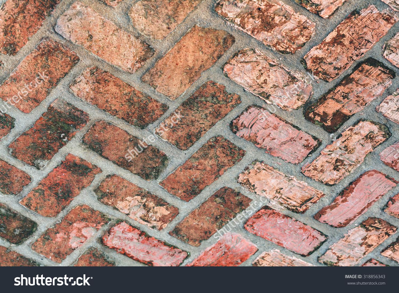 Old Walkway Foundry Bricks For Design Website, Wallpaper.