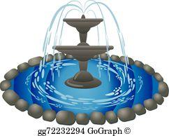Fountain Clip Art.