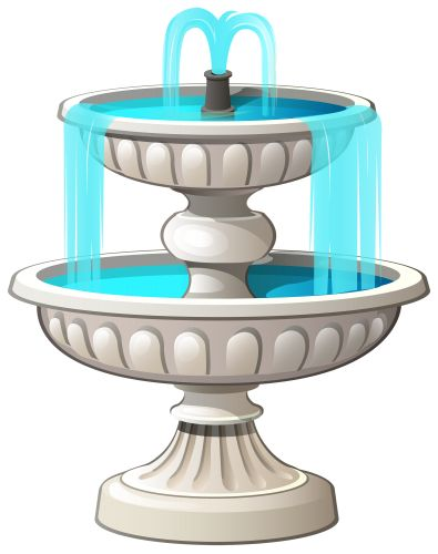 Fountain Clip Art.