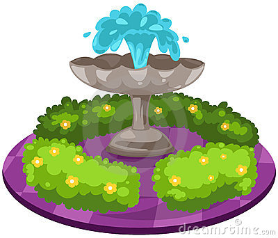 Fountain Clipart.
