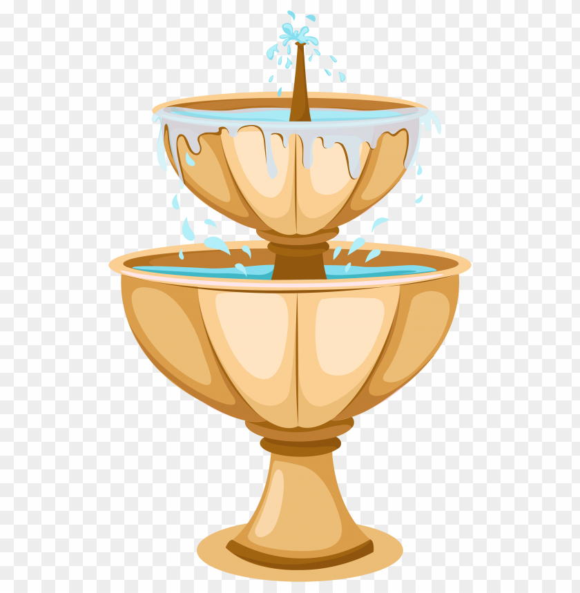 Download garden fountain clipart png photo.
