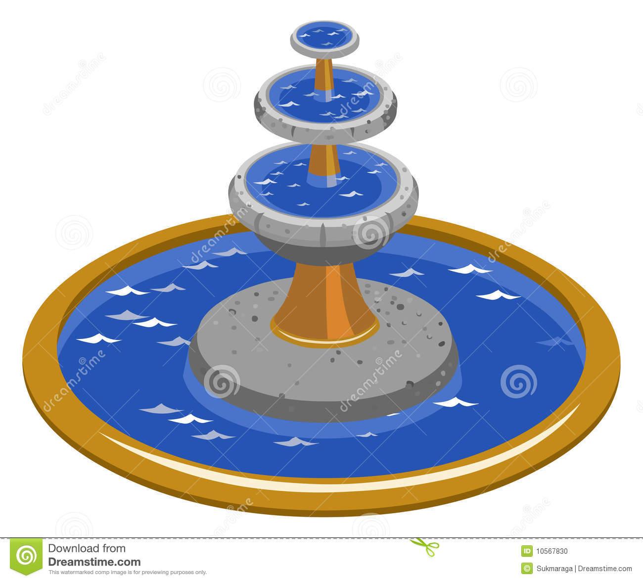 Clipart fountain.