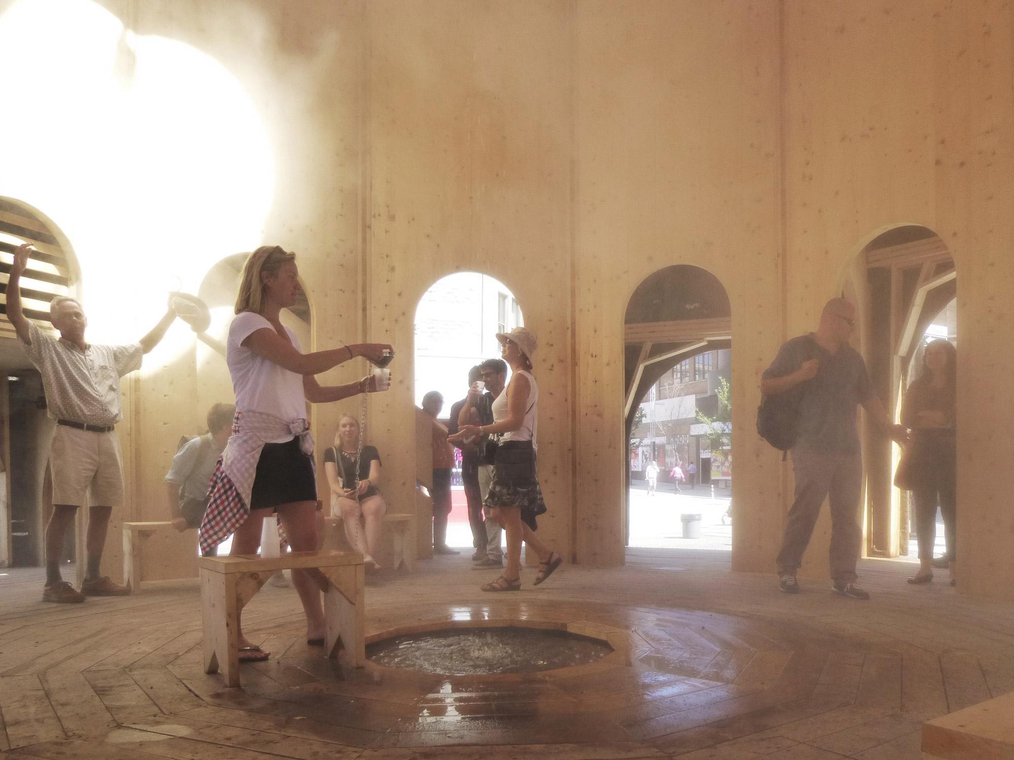 raumlabor » Fountain house.