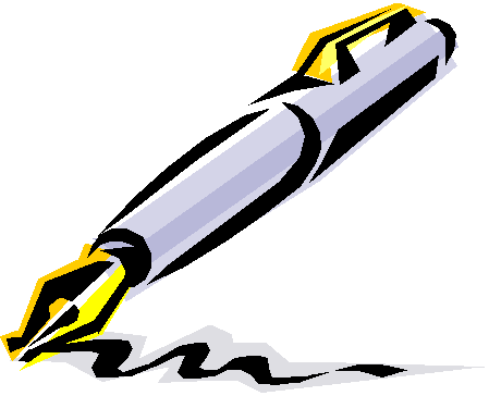 Fountain Pen Clipart.