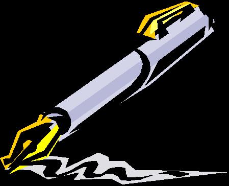 Fountain Pen Clipart.