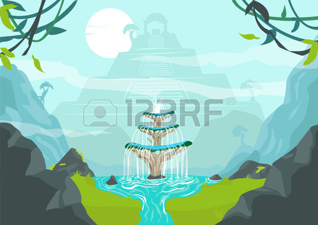 Showing post & media for Tree water fountain cartoon.