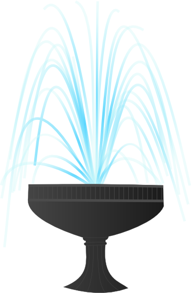Water Fountain Clip Art.