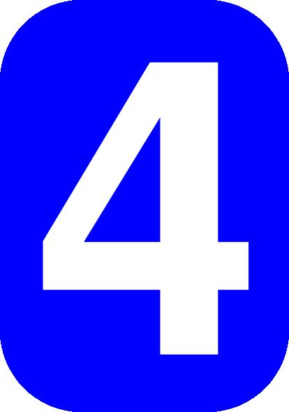 Four Clipart.