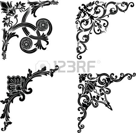 44,179 Corner Border Cliparts, Stock Vector And Royalty Free.