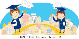 Four cornered cap Illustrations and Clipart. 2 four cornered cap.
