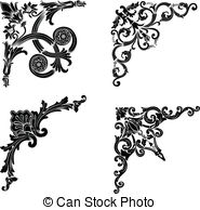 Four cornered Vector Clipart EPS Images. 1,542 Four cornered clip.