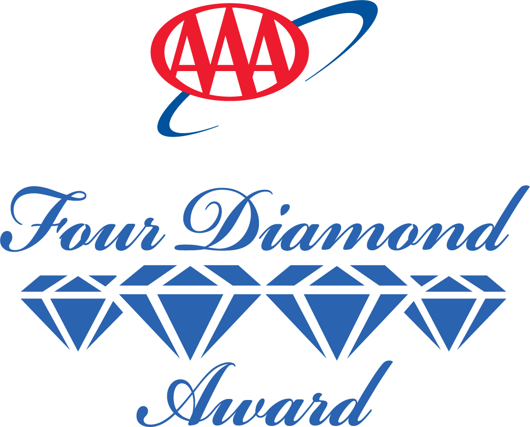 AAA Five Diamond and AAA Four Diamond hotels and restaurants.