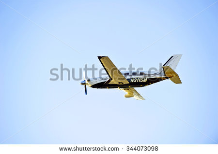 Piper Plane Stock Images, Royalty.