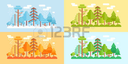60,210 Spring Forest Stock Illustrations, Cliparts And Royalty.