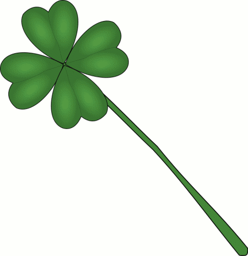 4 Leaf Clover Clipart.