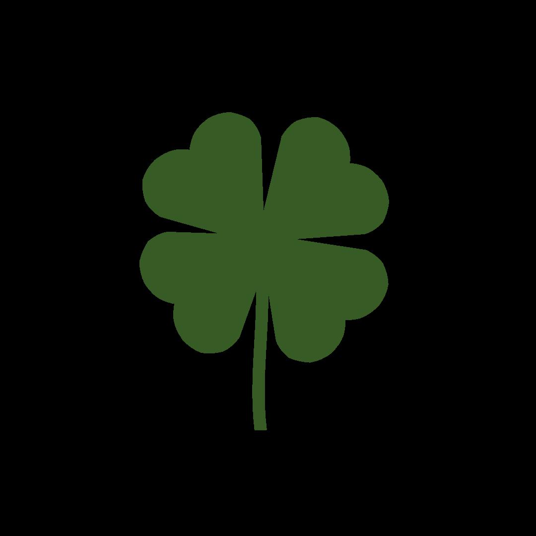 Facebook Shamrock Symbol.