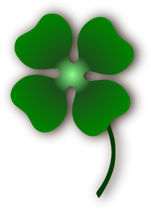 Free vector graphic: Clover, Flower, Luck, Four Le.