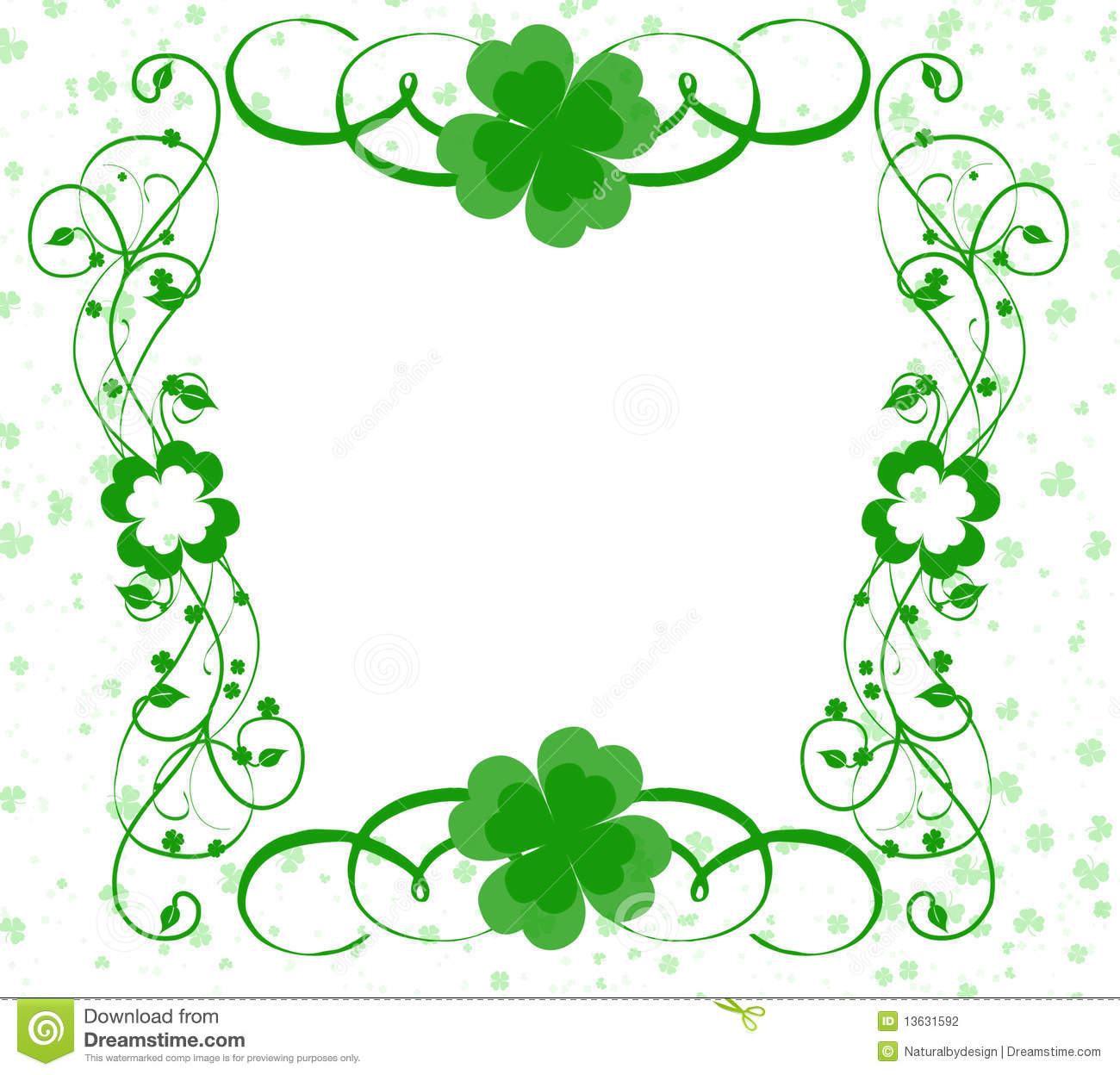 St Patricks Day Wreath Simple