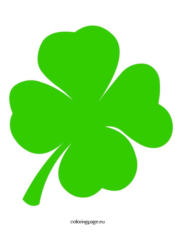 Four leaf clover clip art.