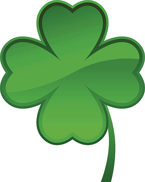Best Four Leaf Clover Illustrations, Royalty.