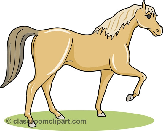Animals with four legs clipart.