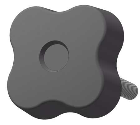 Innovative Components Soft Four Lobe Knob, 5/8, 1/4.
