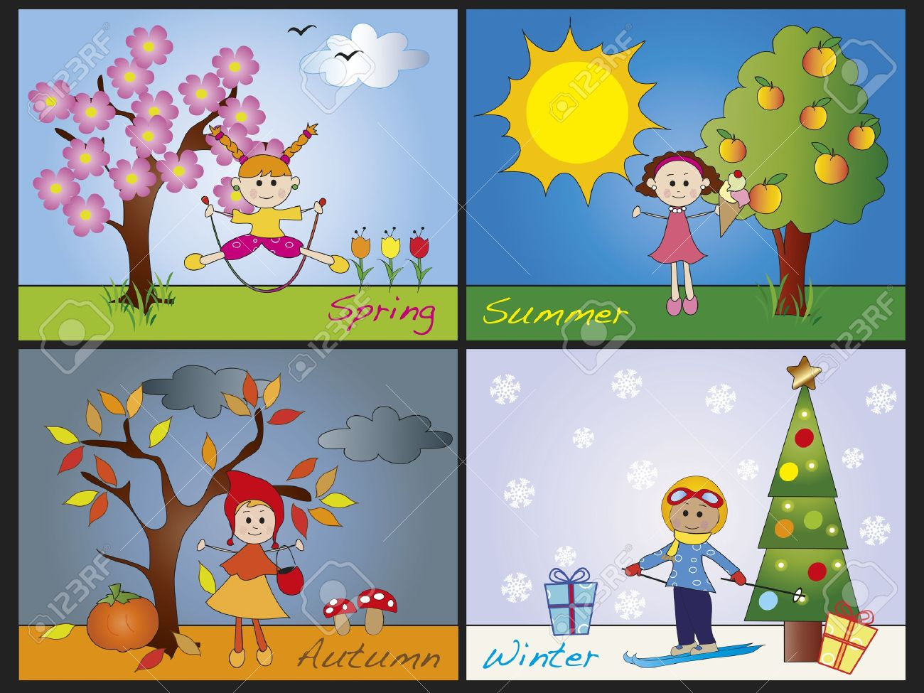four seasons clipart clipground winter tree clipart winter tree clip art whimsical