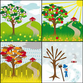 Four seasons Illustrations and Stock Art. 1,661 four seasons.