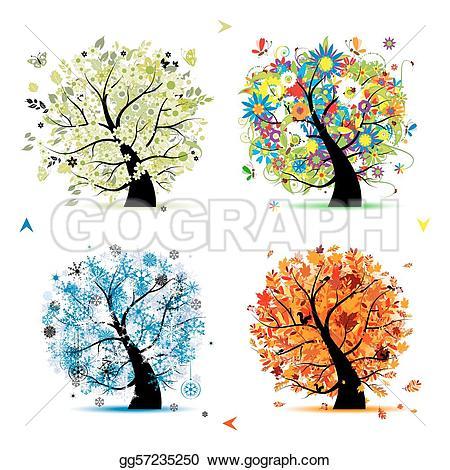Seasons Clip Art.