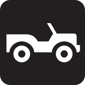 Four Wheel Drive Road Black Clip Art at Clker.com.