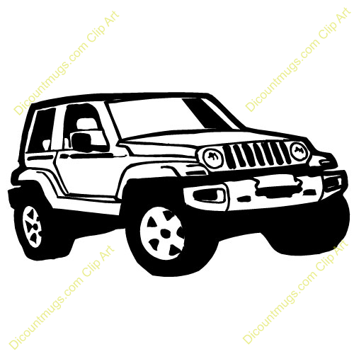 4wd clipart.