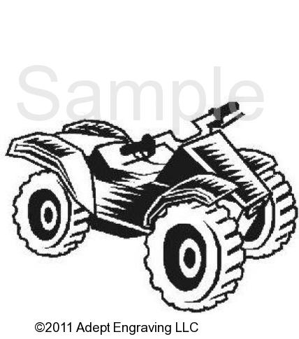 Four wheeler clipart.
