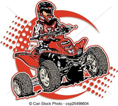 Four wheeler Vector Clipart EPS Images. 1,136 Four wheeler clip.