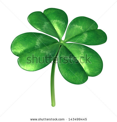 Shoot Shamrock Wood Sorrel Clover Called Stock Photo 127754621.