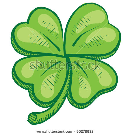 Celtic Clover Stock Photos, Royalty.