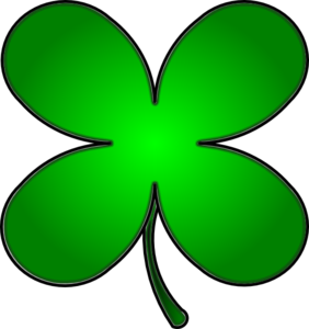 4 leaf clover clipart of shamrocks and four leaf clovers 5.