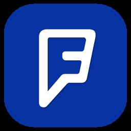 Foursquare 5 Icon.