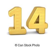 Number 14 Illustrations and Clipart. 1,034 Number 14 royalty free.